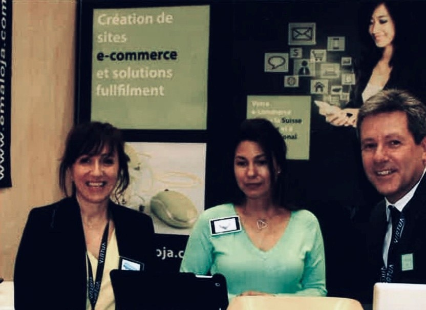 La Direction au salon e-commerce
